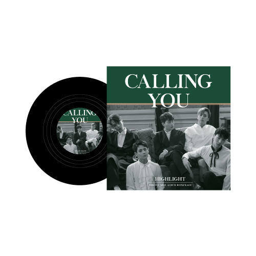 ALBUM COASTER - CALLING YOU